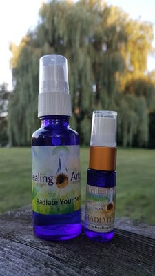 Aanbiedings-set Radiate Your Self & mini spray